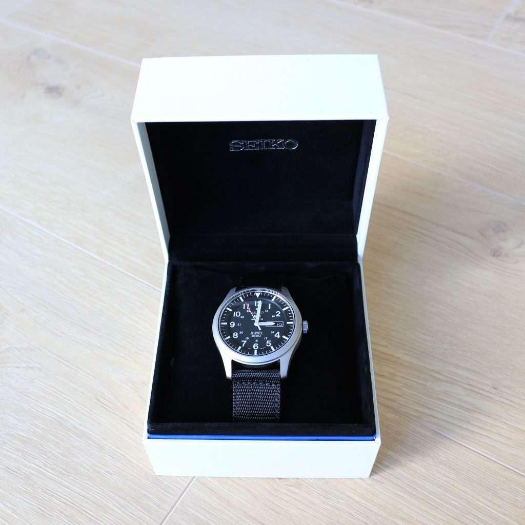 Uhrenbox von Seiko