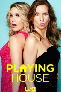 download series Playing House S03E02 None of Your Business