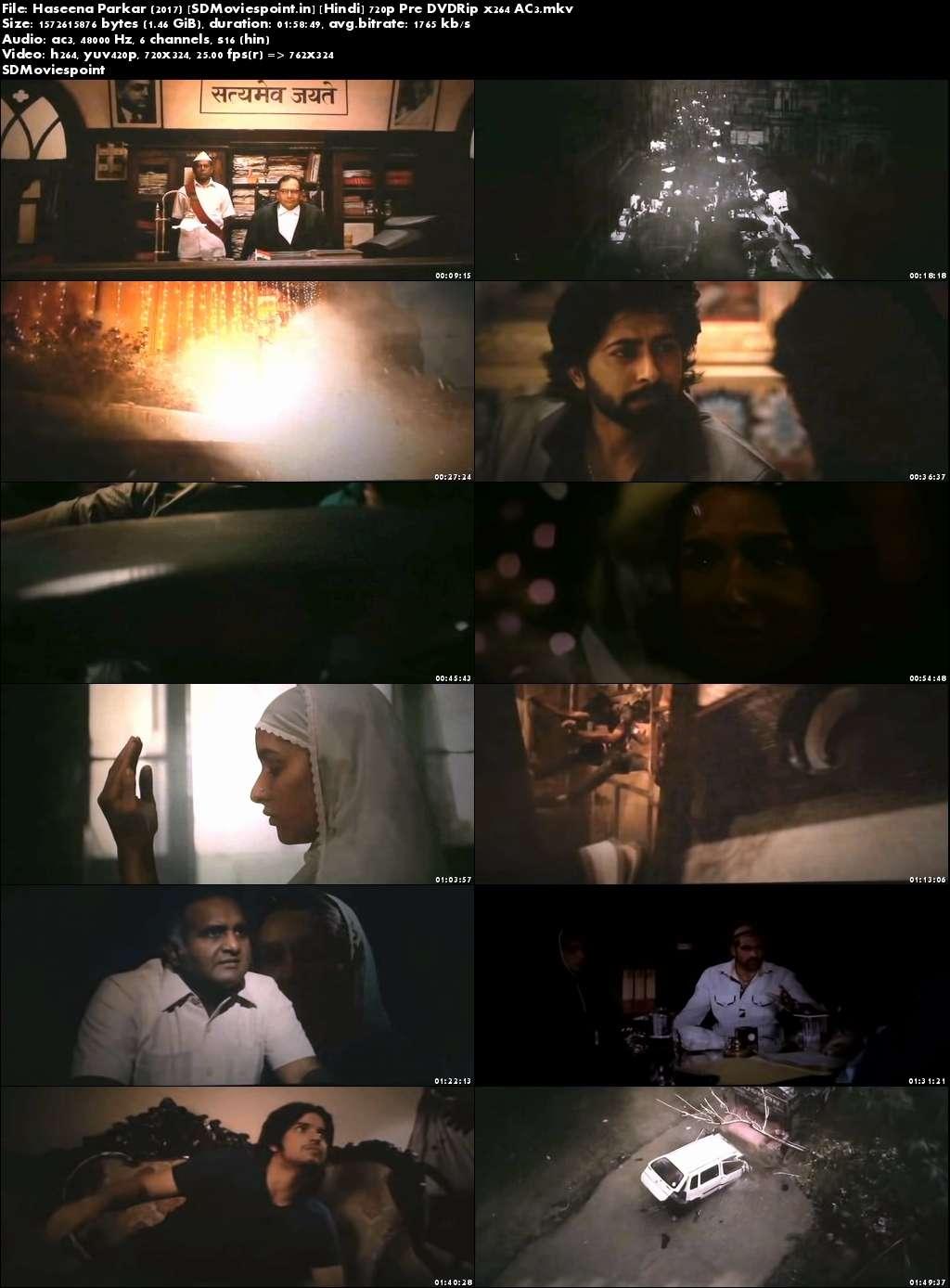 Screen Shots Haseena parkar 2017 Full Movie Download Free 720p