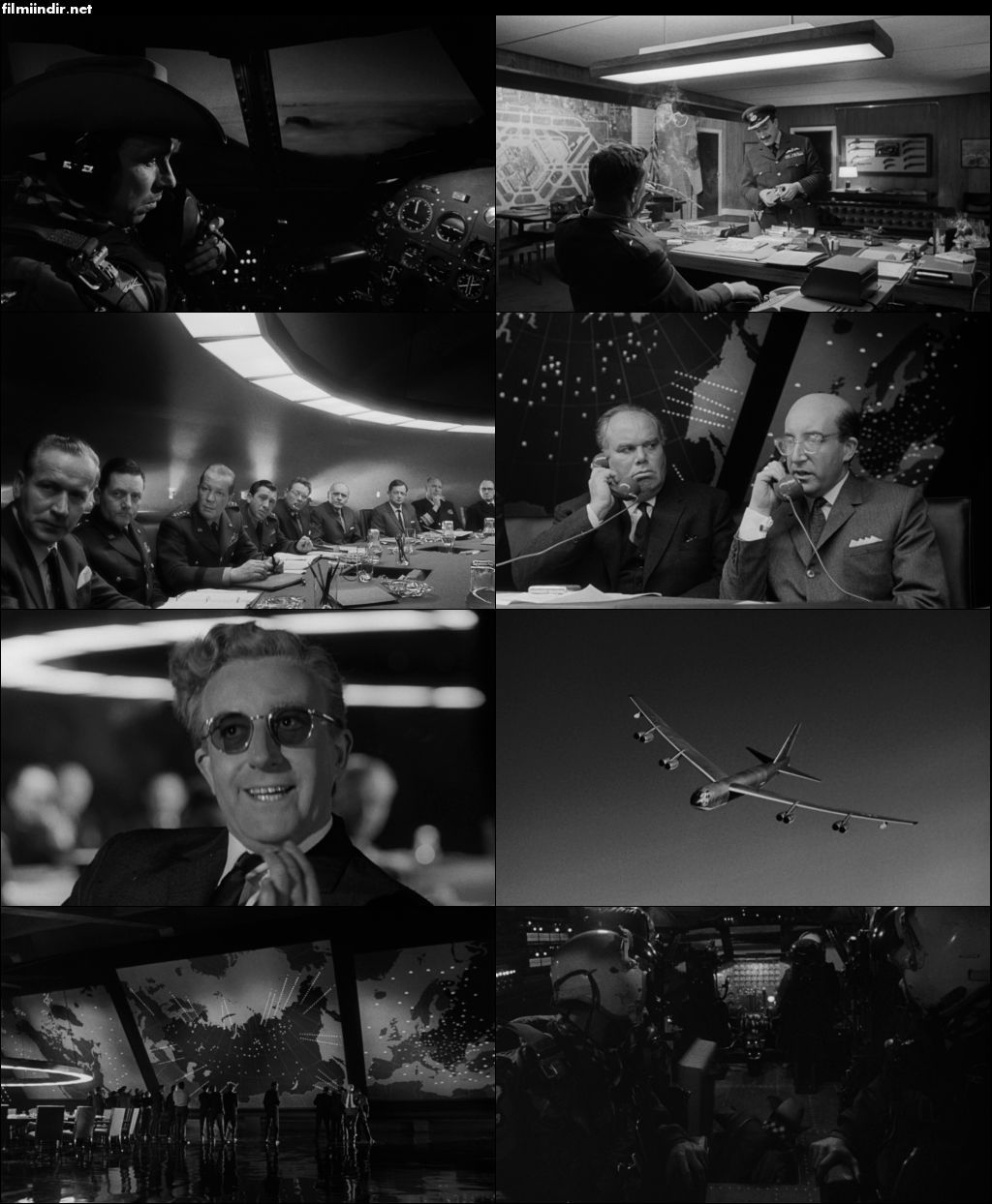 Dr. Garipaşk - Dr. Strangelove or: How I Learned to Stop Worrying and Love the Bomb (1964) türkçe dublaj film indir