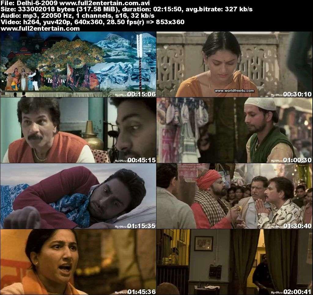 Delhi-6 2009 Full Movie Download Free in Dvdrip 480p