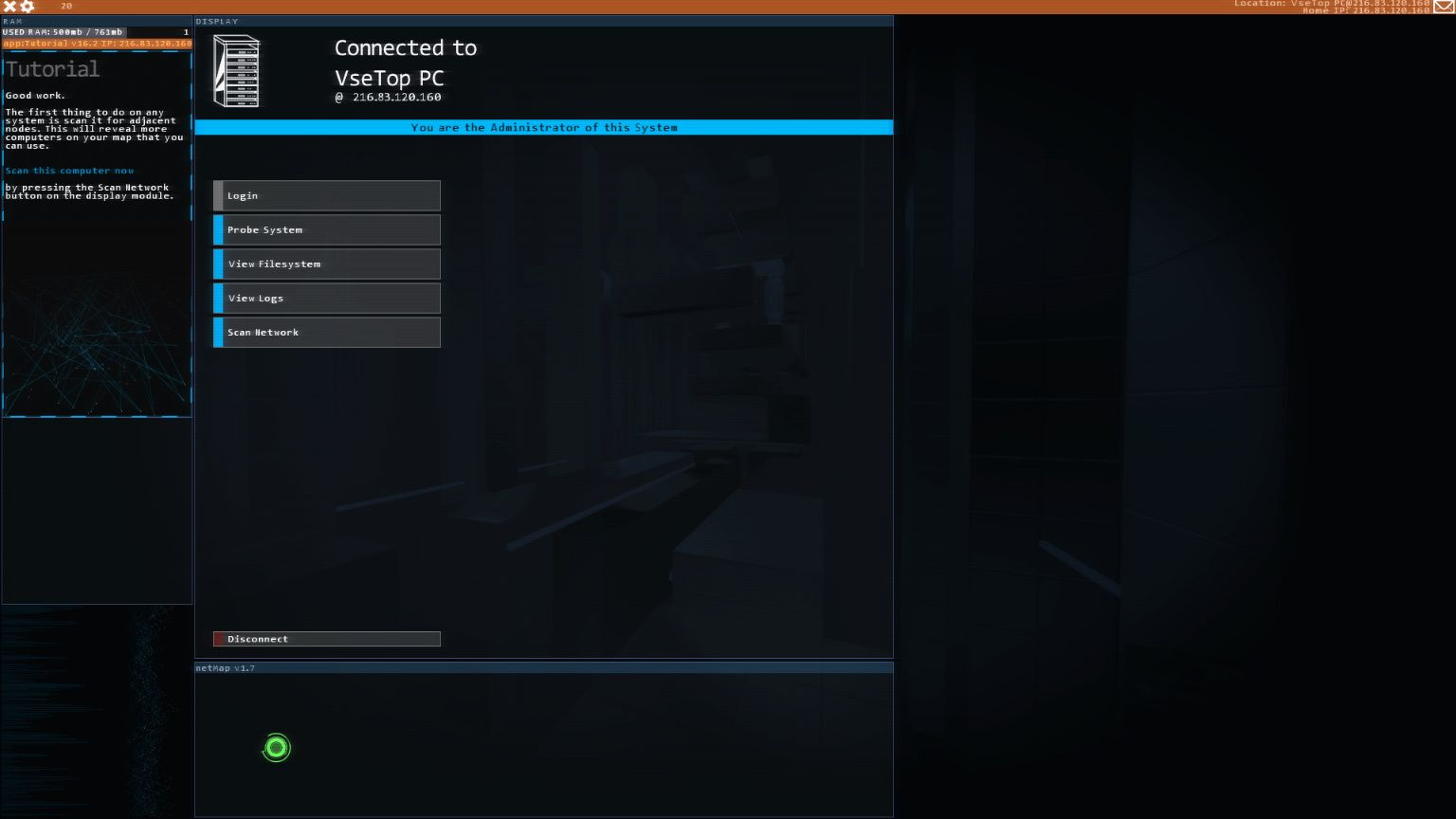 Hacknet [v4.054] | PC | RePack от Saverneo