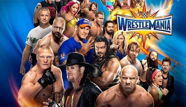 العرض السنوي المنتظر Wrestlemania (33)