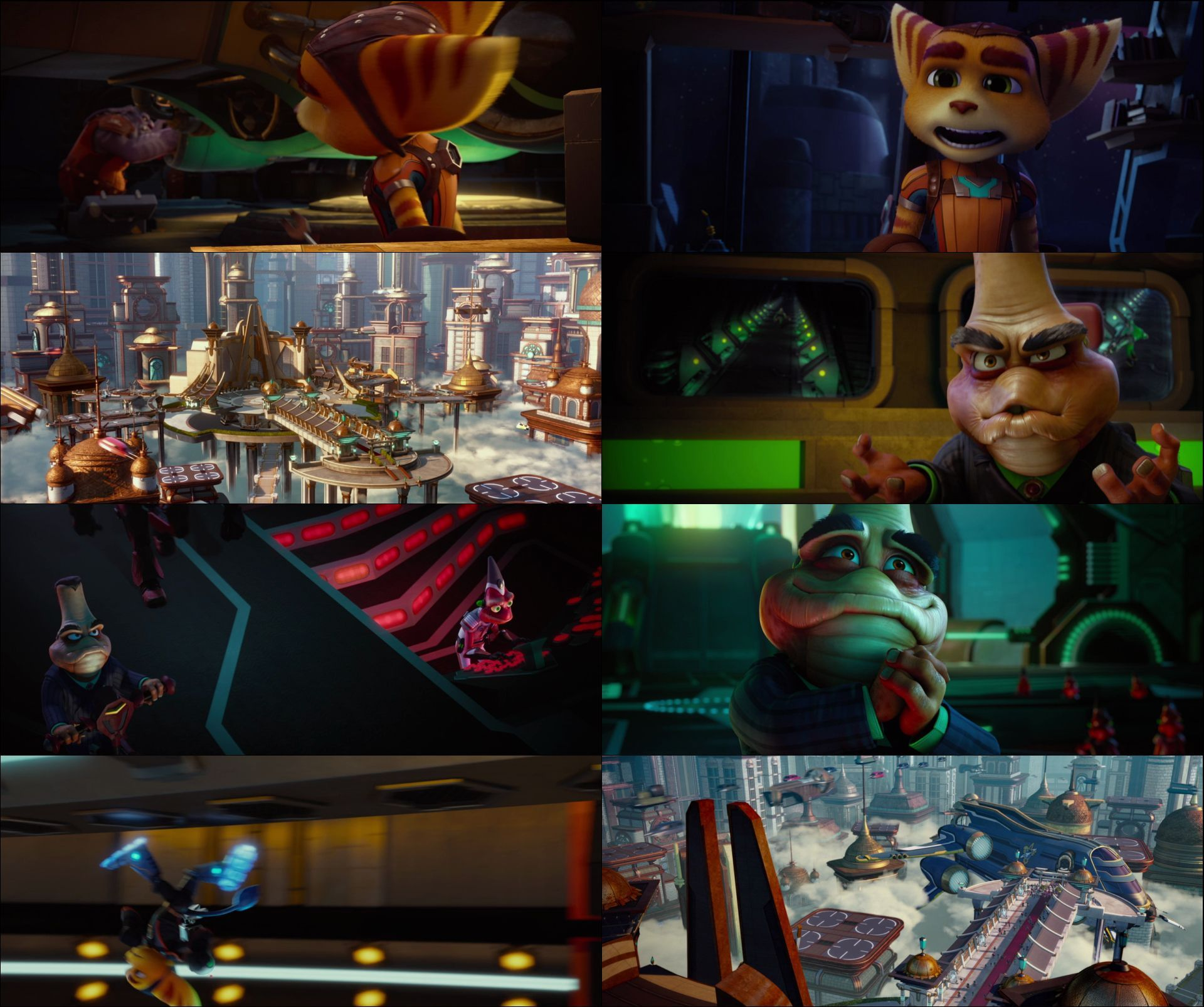 Ratchet and Clank (2016) türkçe dublaj animasyon film indir