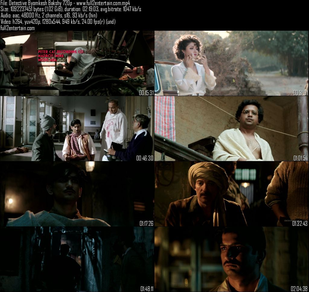 Detective Byomkesh Bakshy 2015 Full Movie Free Download Hd 1Gb