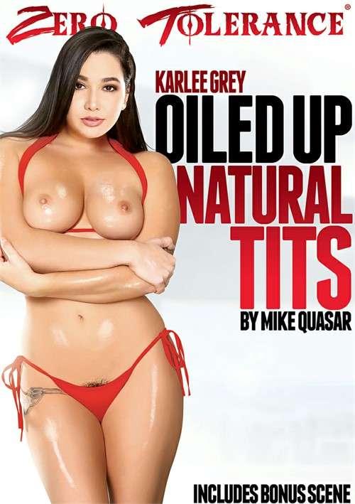 Натуральные Сиськи в Масле | Oiled Up Natural Tits