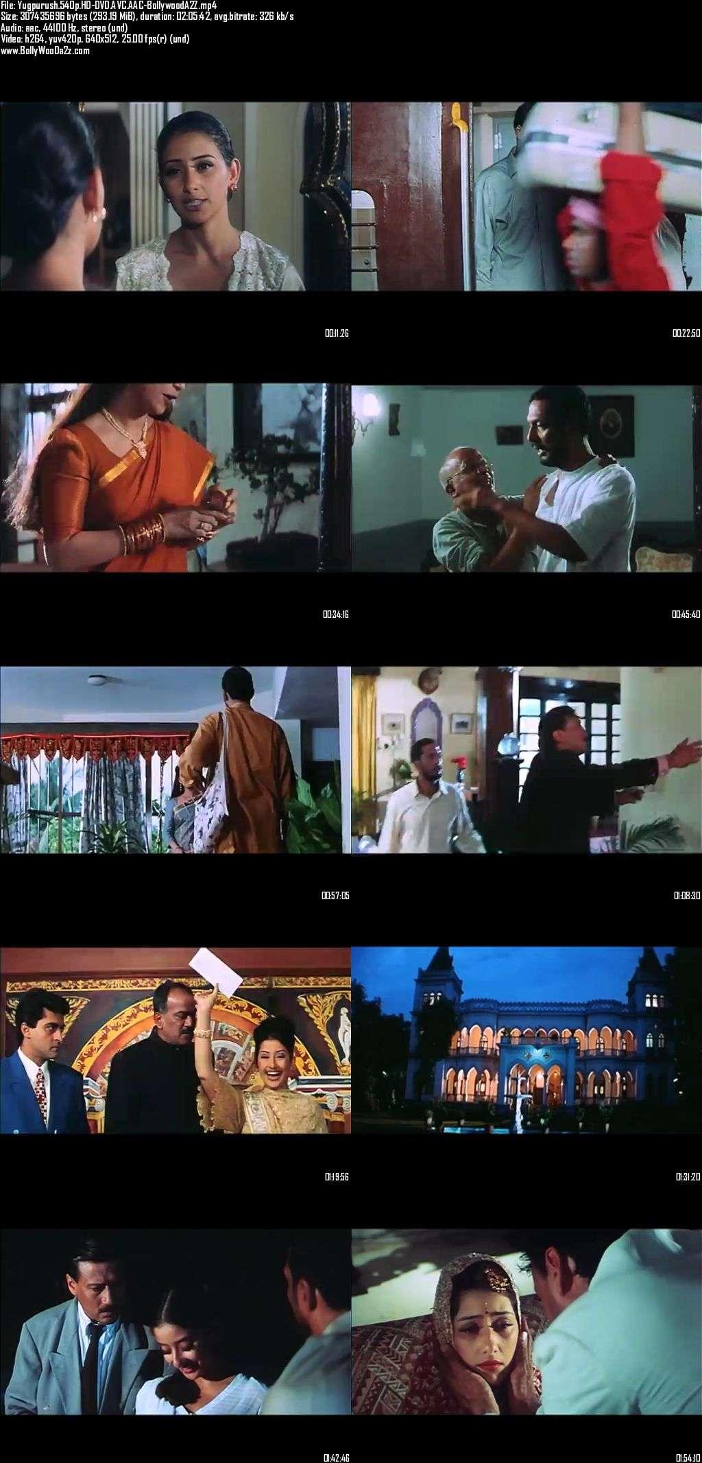 Yugpurush (1998) 540p - HD-DVDRip - AVC - AAC-Bollywooda2z