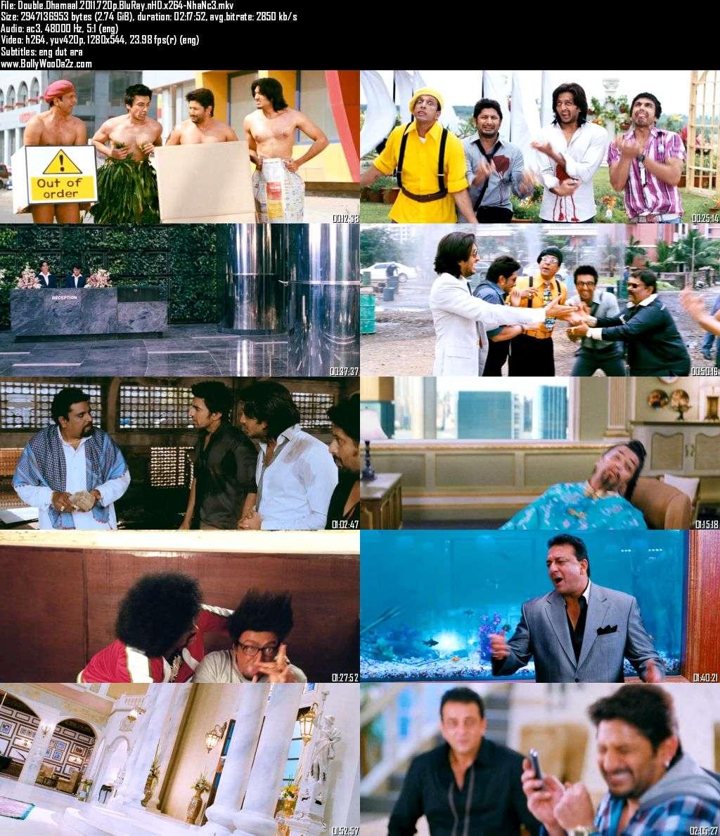 Double Dhamaal (2011) 720p - BluRay - x264 - DD5.1-NhaNc3