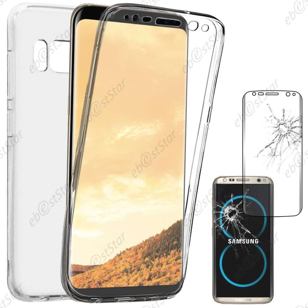 Coque-Integrale-Silicone-Gel-Samsung-Galaxy-S8-S8-Plus-S7-Edge-S6-Edge-S5-S4