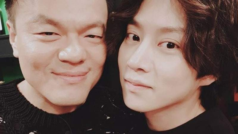 Park Jin Young And Super Junior's Heechul Tease Each Other Mercilessly