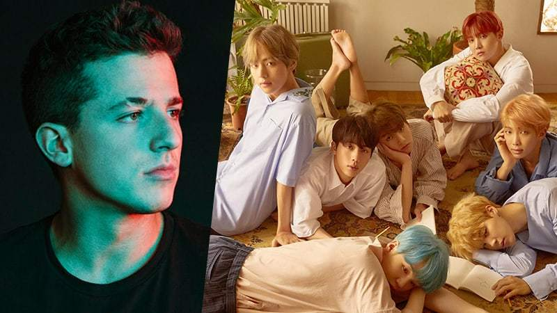 Charlie Puth Gives Shoutout To BTS On Twitter Asking Them To Check His Direct Message