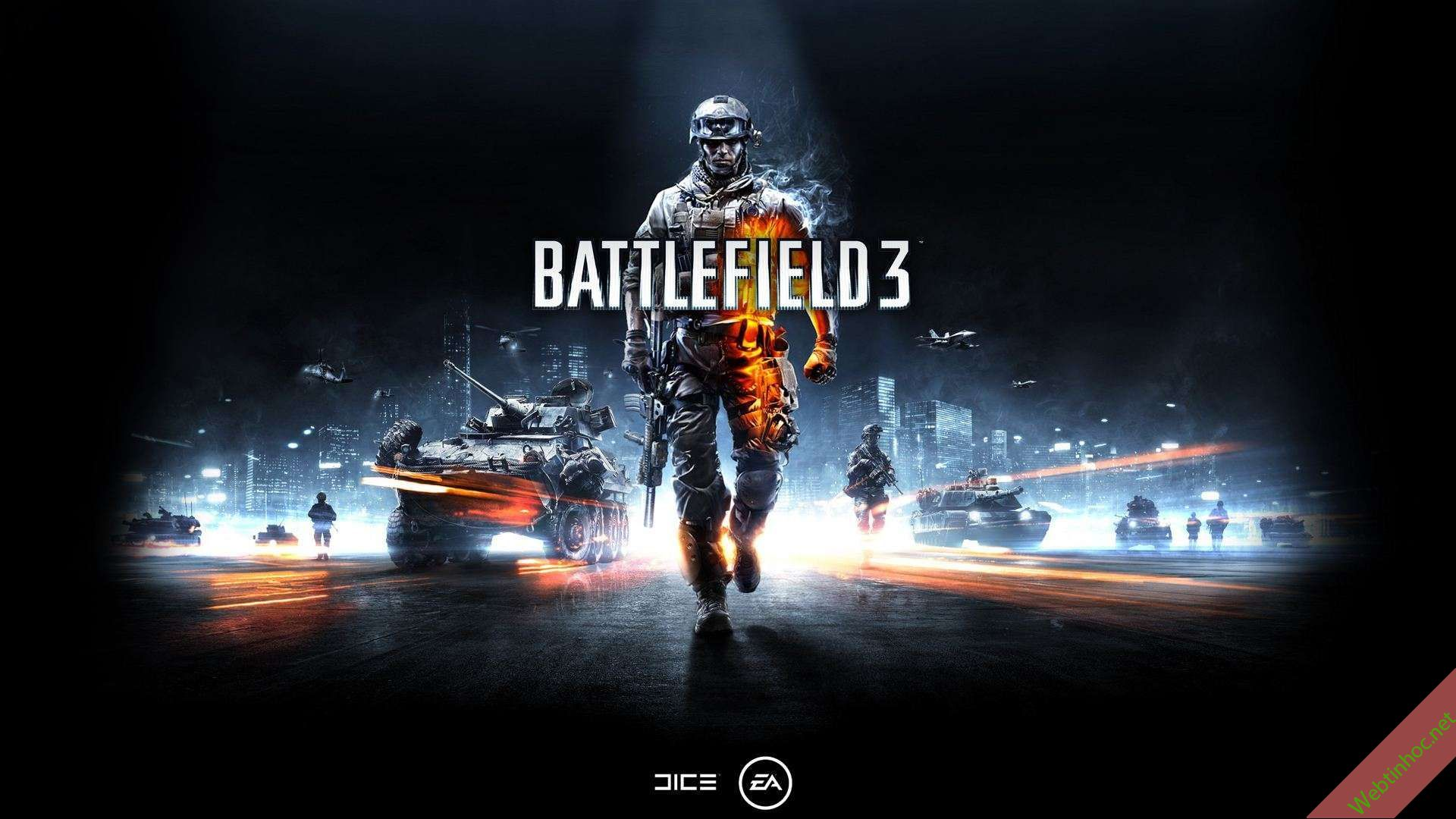 Battlefield 3 - Game hành động bắn súng nhập vai cực hay