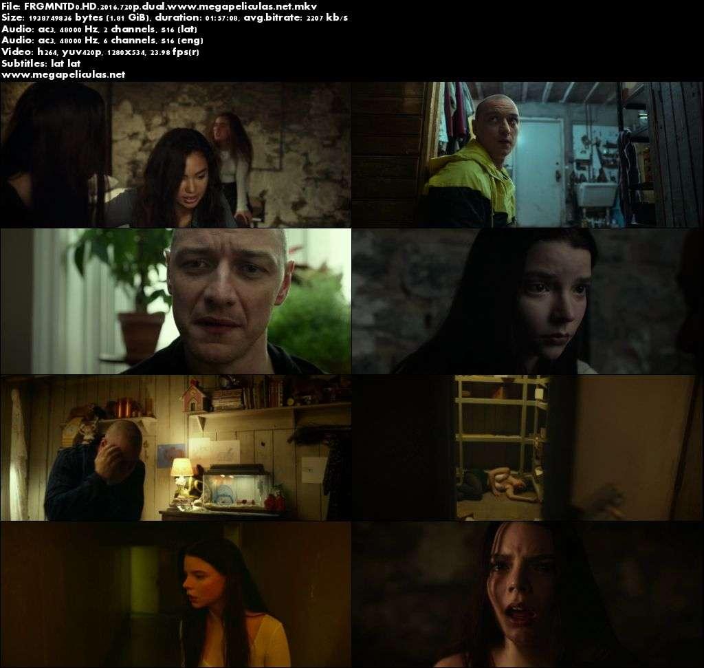 Capturas de Fragmentado (2016) [BrRip 720p][Dual Latino-Ingles]