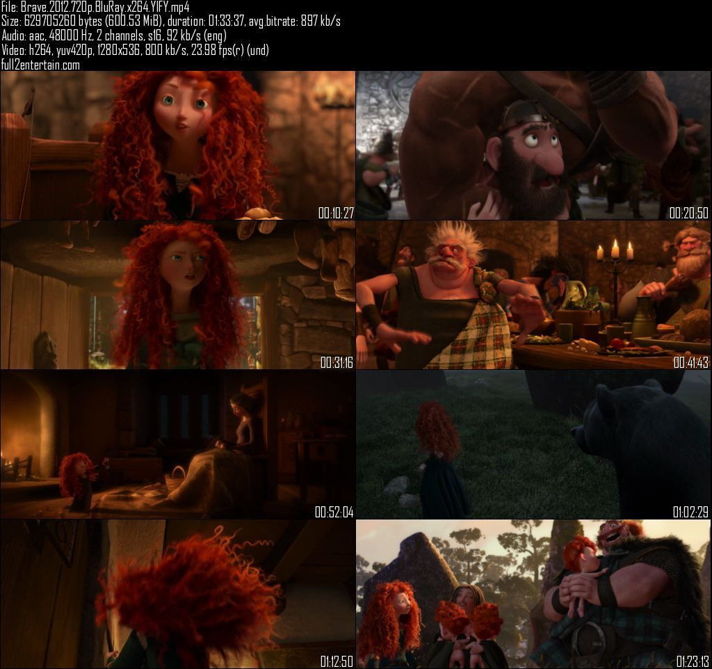 Brave 2012 Full Movie Free Download HD