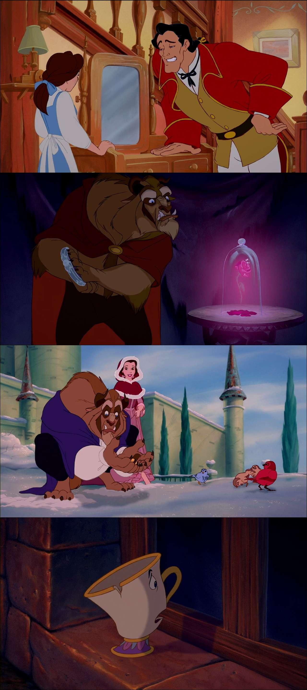 Güzel Ve Çirkin 3D - Beauty and the Beast (1991) türkçe dublaj film indir