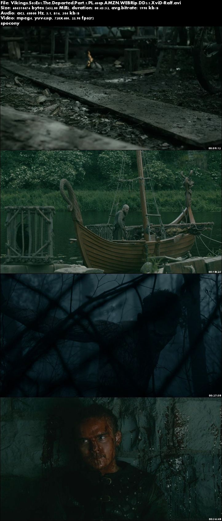 Wikingowie / Vikings (2017) {Sezon 5} (Odcinki 01 do 10) WEB/HDTV.PL.480p.XviD-Ralf [Lektor PL]
