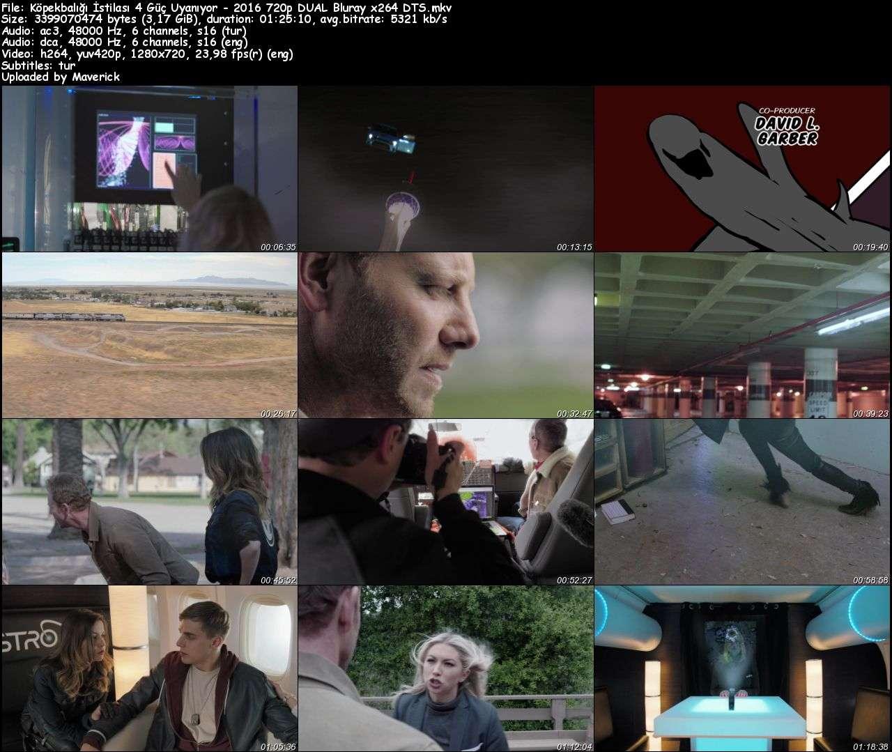 Köpekbalığı İstilası 4 Güç Uyanıyor - 2016 BluRay (720p - 1080p) DuaL MKV indir