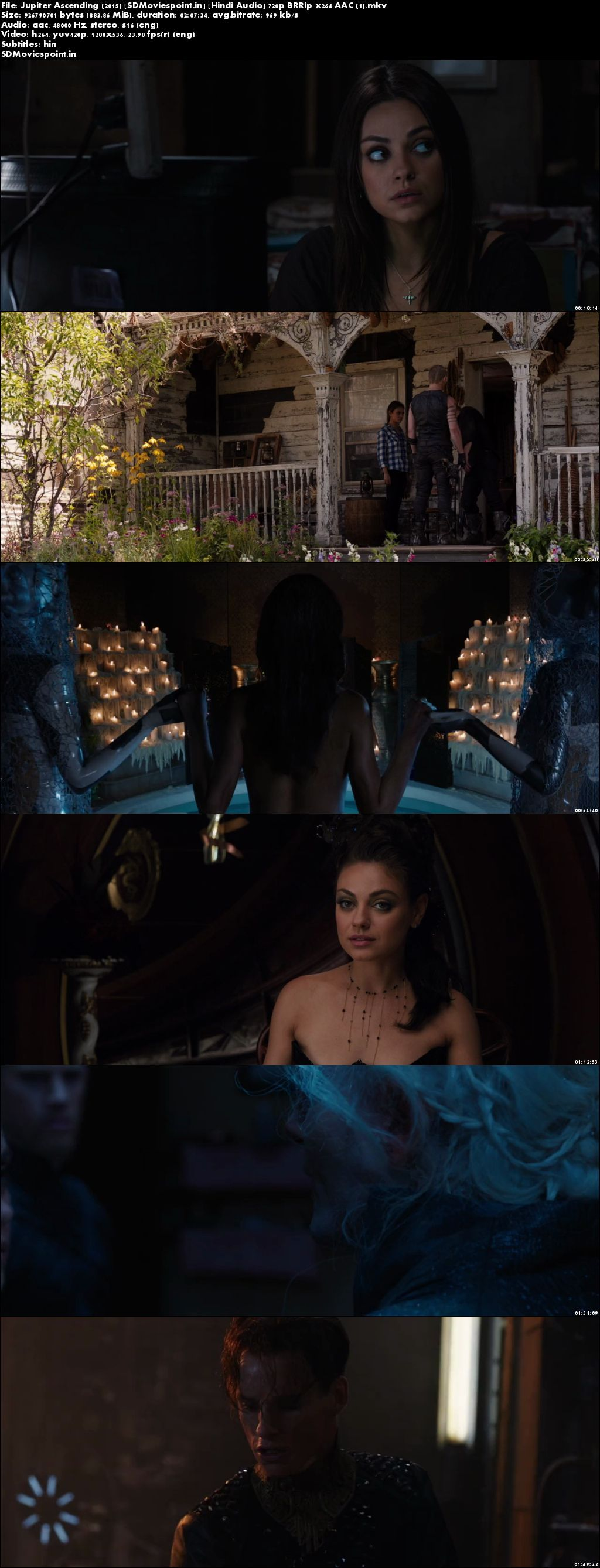 Screen Shots Jupiter Ascending 2015 Full HD Movie Download 720p Free