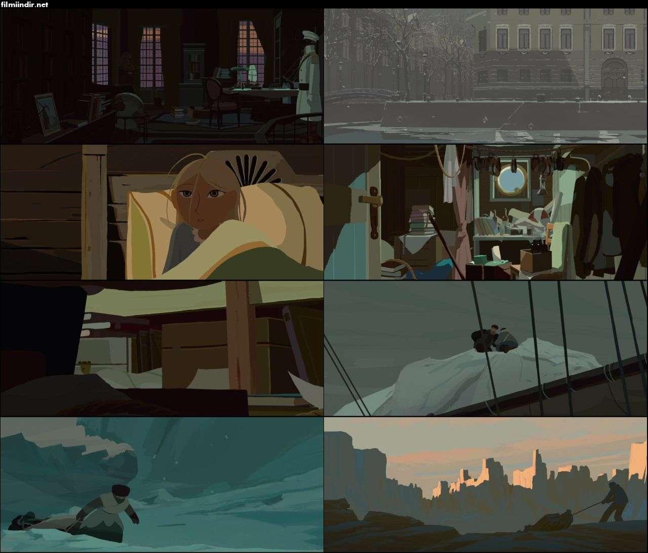 Kuzey Kutbuna Yolculuk - Long Way North (2015) türkçe dublaj animasyon indir