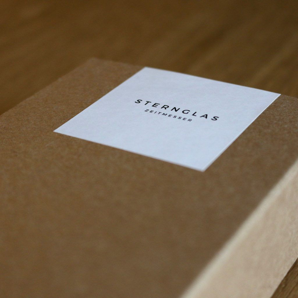 Sternglas Kartonbox
