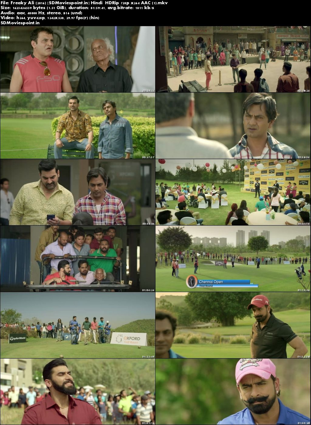 Screen Shots Freaky Ali 2016 Full Hindi Movie Download HD Free 720p