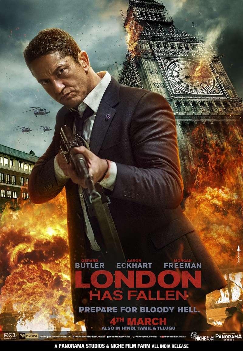 Падение Лондона | Blu-Ray Remux 1080p | Лицензия