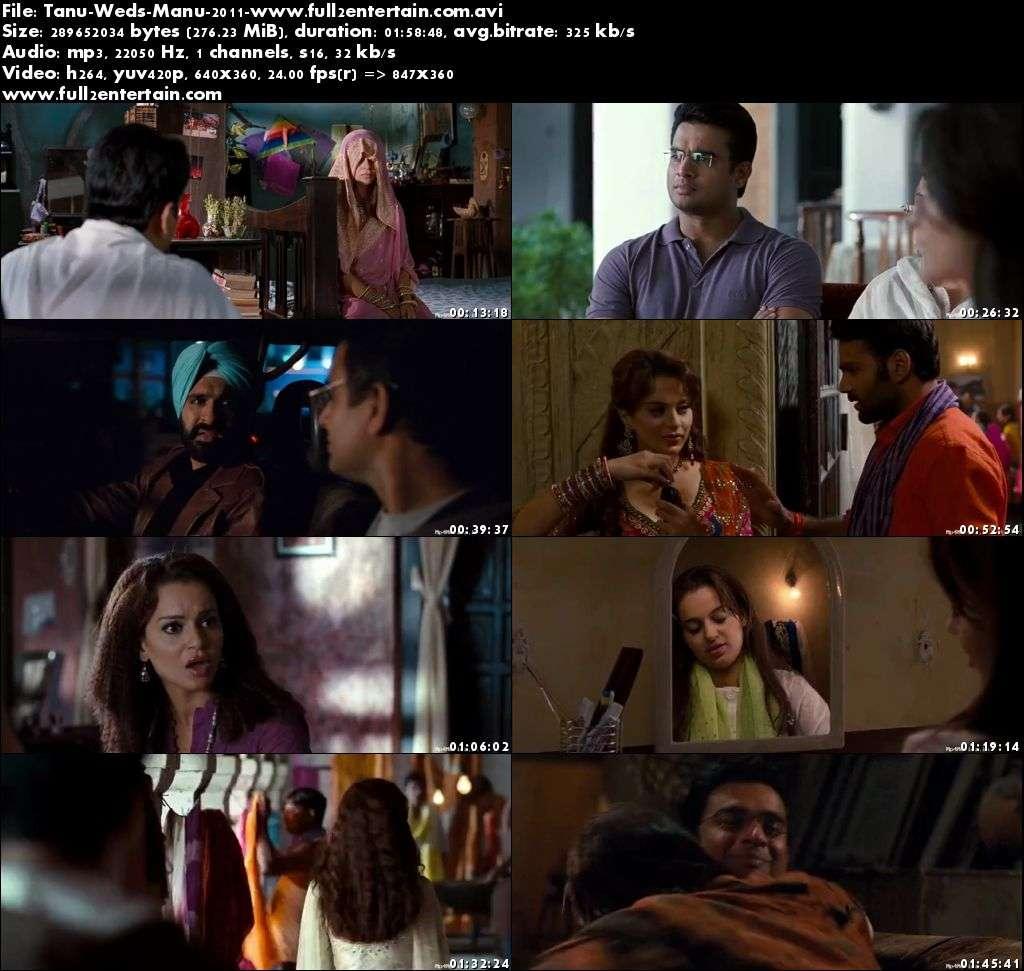 Tanu Weds Manu 2011 Full Movie Download Free in Bluray 720p