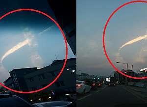 합성이 아니라고 밝혀진 '세월호 리본모양 구름'