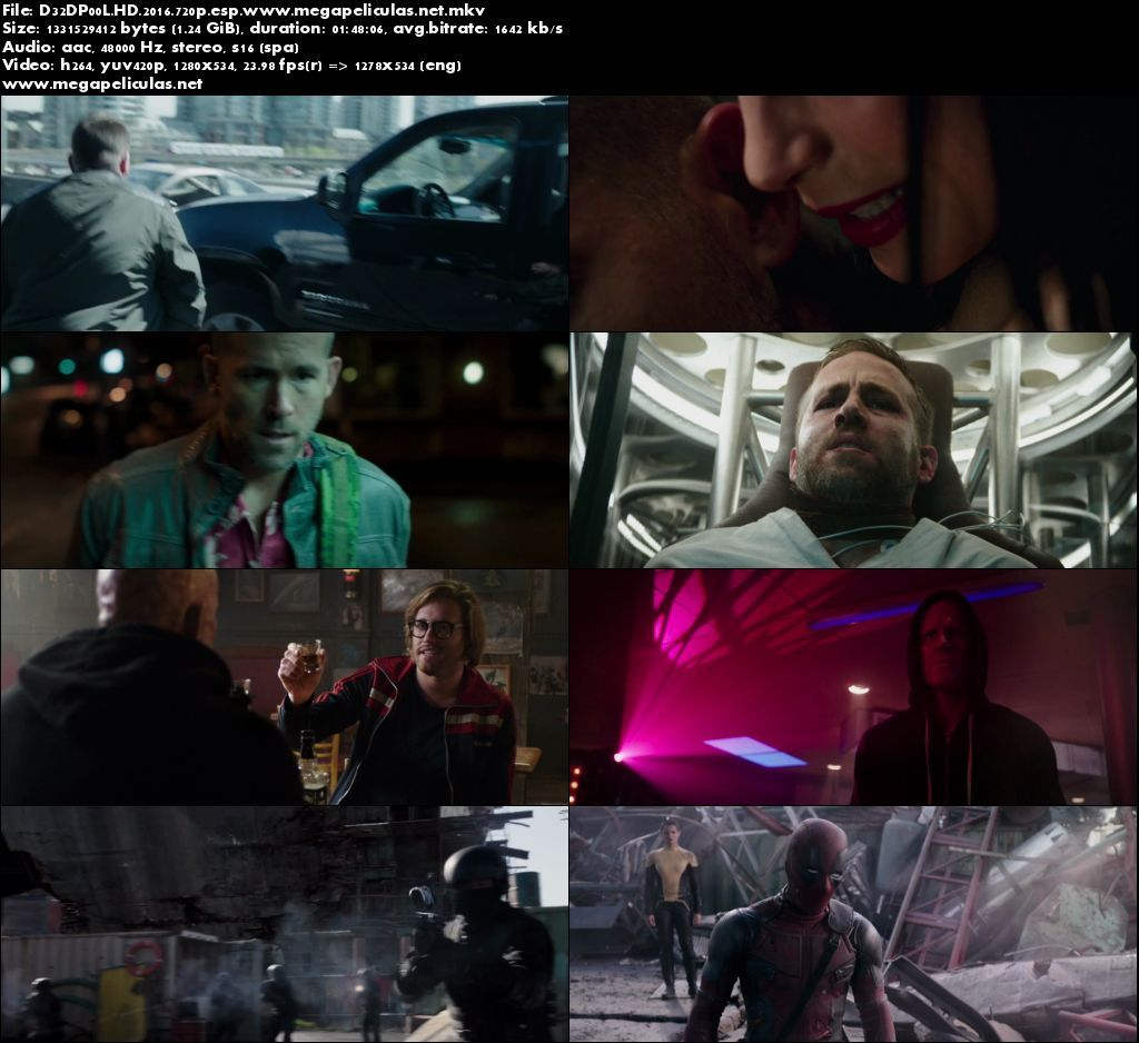 Capturas de Deadpool (2016) [BrRip 720p] [Latino]