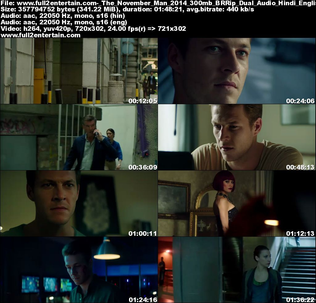 The November Man (2014) Full Movie Free Download HD 300mb