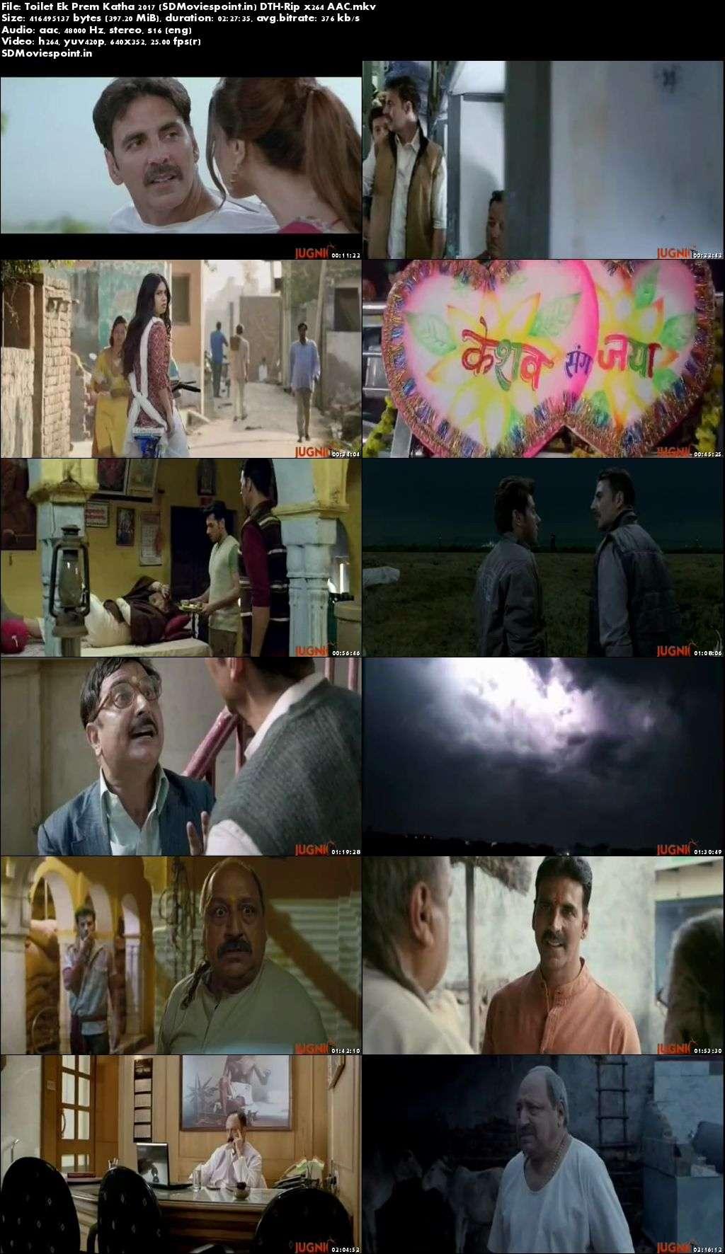 Screen Shots Toilet Ek Prem Katha 2017 300MB Movie Download HD Free