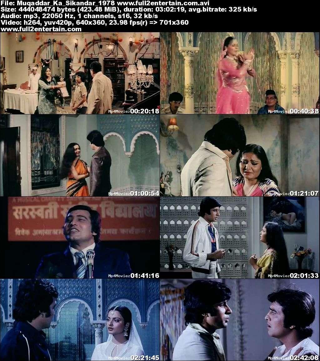 Muqaddar Ka Sikandar 1978 Full Movie Download Free in Bluray 720p