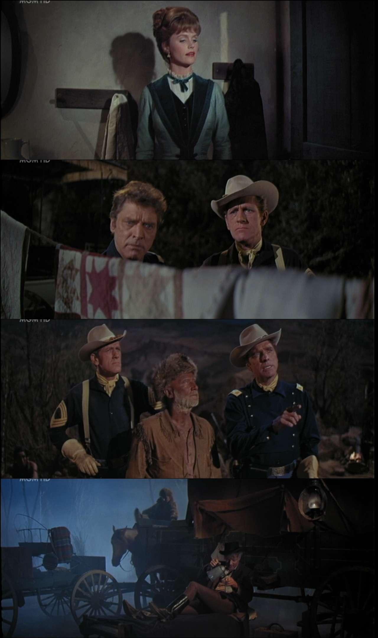 Büyük Takip - The Hallelujah Trail (1965) türkçe dublaj film indir