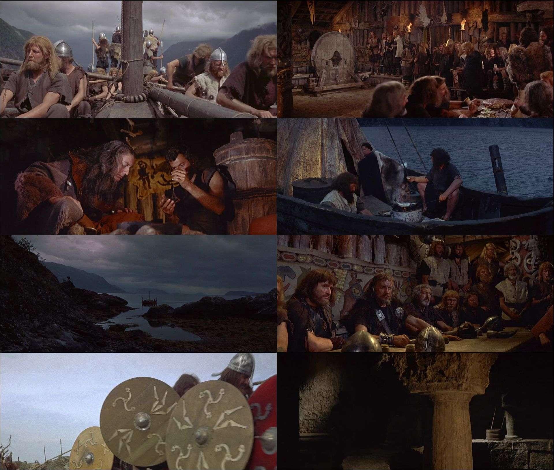 Vikingler - The Vikings (1958) türkçe dublaj film indir