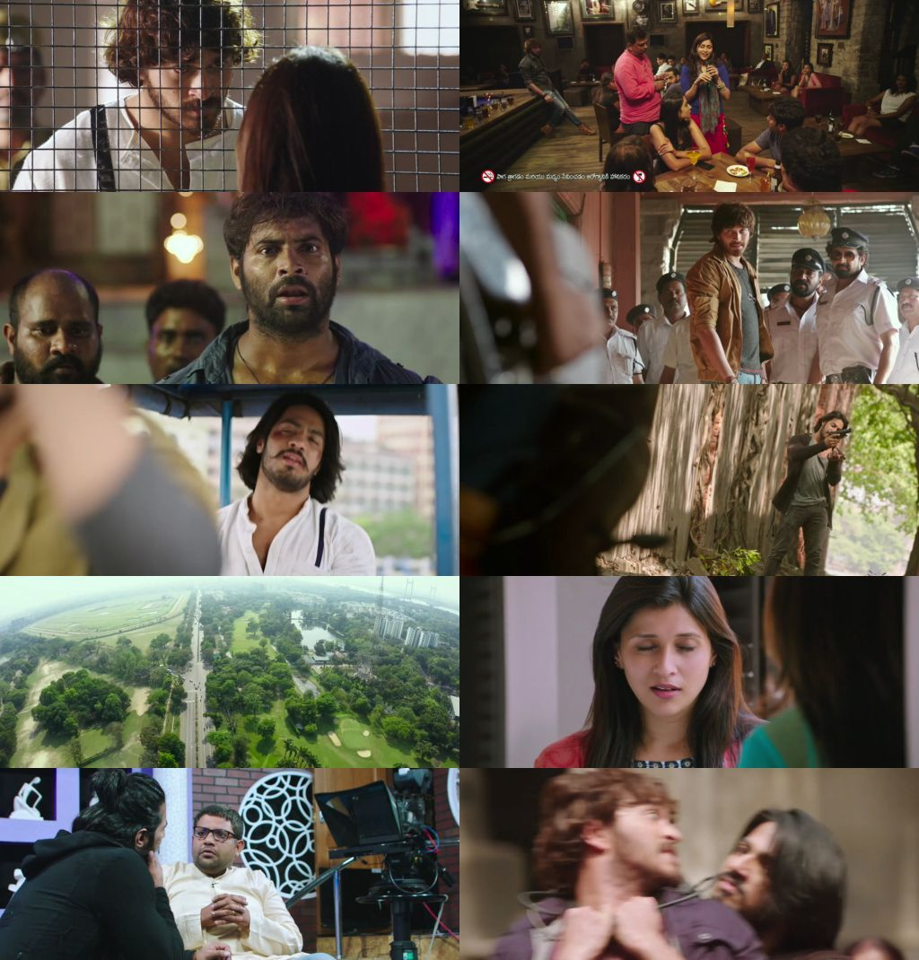 Rogue (2017) 720p UNCUT HDRip x264 [Dual Audio][Hindi+Telugu] Dr.STAR