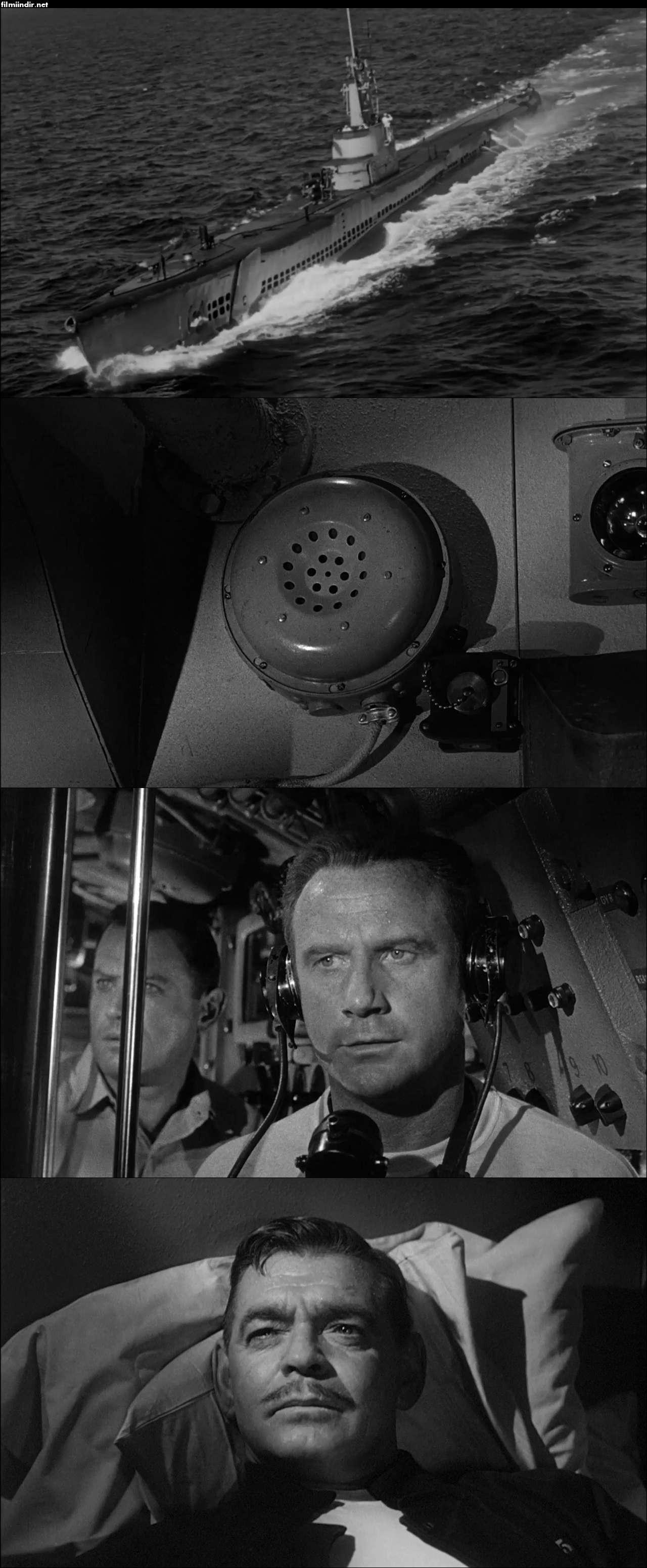 Sessiz Ve Derinden Git - Run Silent Run Deep (1958) türkçe dublaj nostaljik film indir
