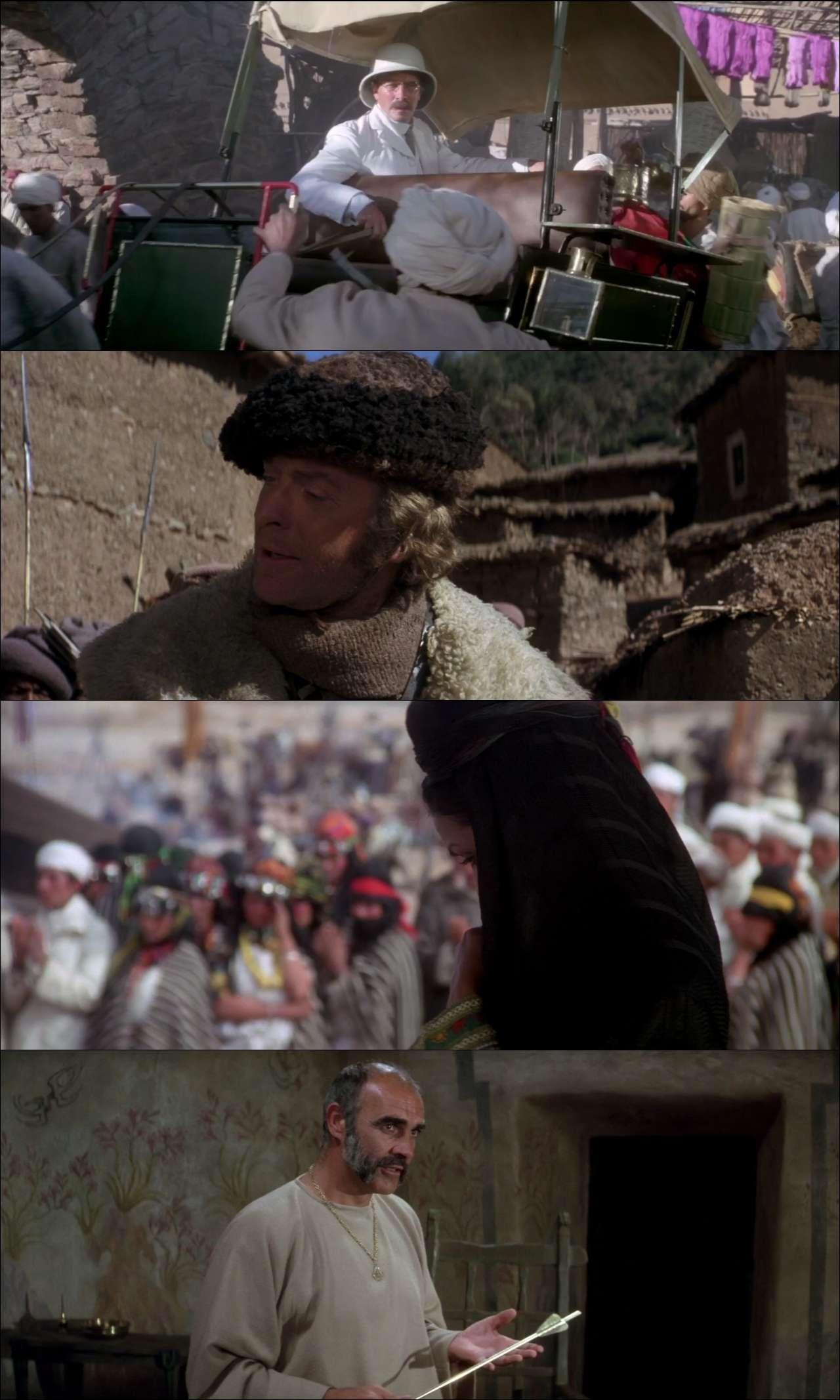 Kral Olacak Adam - The Man Who Would Be King (1975) nostaljik film indir