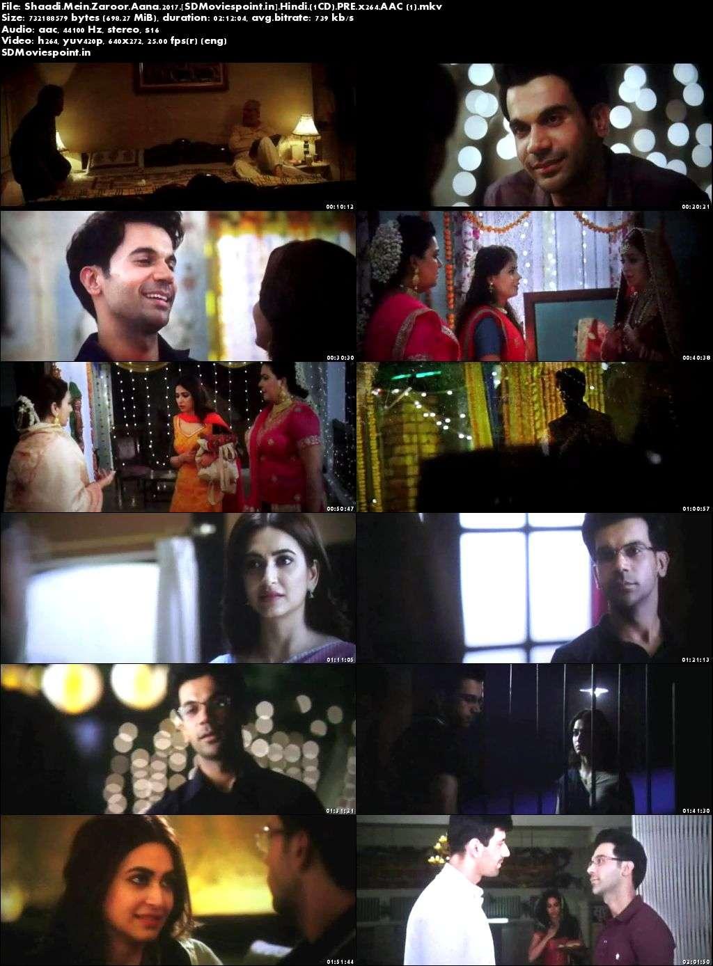 Screen Shots Shaadi Mein Zaroor Aana 2017 Full HD Movie Download Free