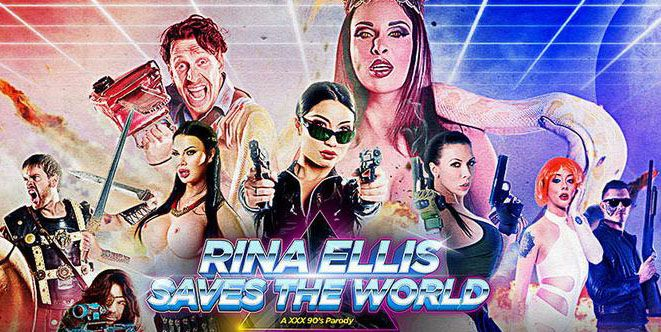 Rina Ellis Спасает Мир   Rina Ellis Saves the World: A XXX 90's Parody