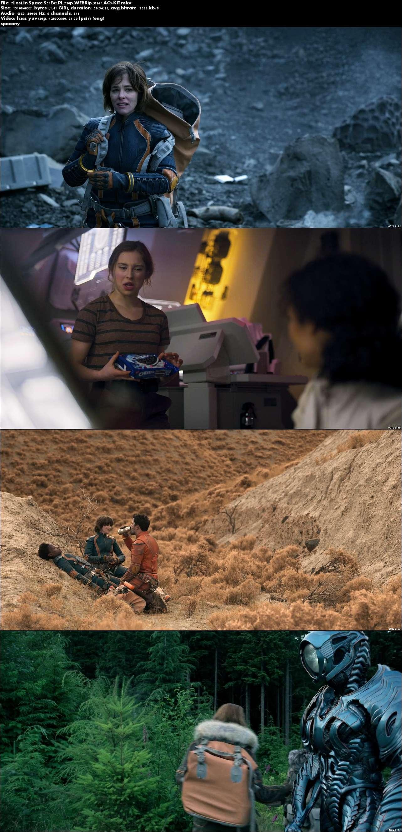 Zagubieni w kosmosie / Lost in Space (2018) {Sezon 1} (Pełen sezon) PL.720p.WEBRip.x264.AC3-KiT [Lektor PL]