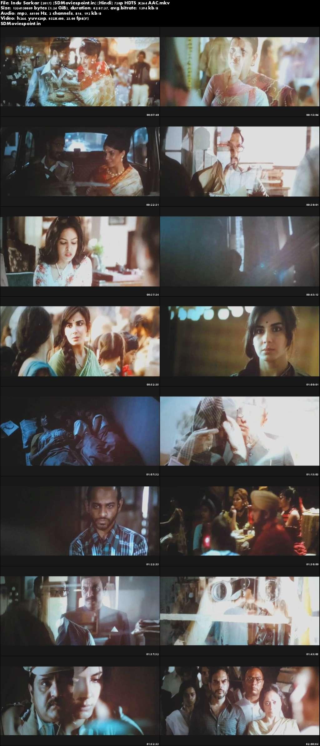 Screen Shots Indu Sarkar (2017) Full HD Movie Download 720p