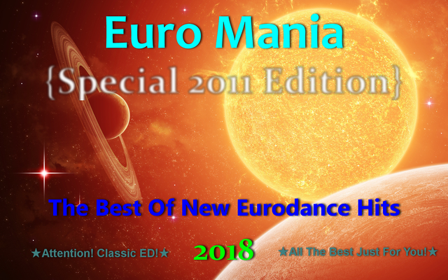 Euro Mania {Special 2011 Edition} (2018) front
