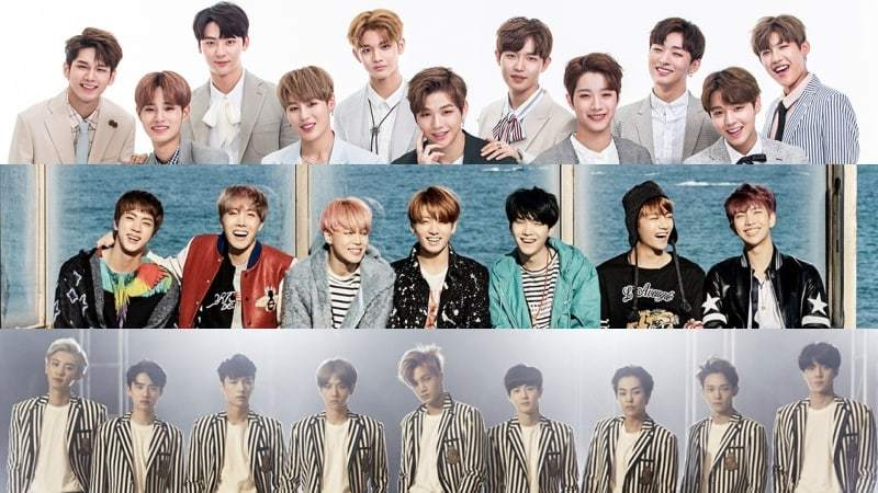 November Boy Group Brand Reputation Rankings Revealed
