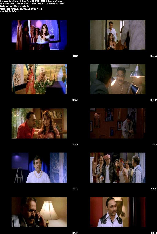 Maan Gaye Mughall-E-Azam (2008) 720p - HD-DVDRip - AVC - AAC-Bollywooda2z
