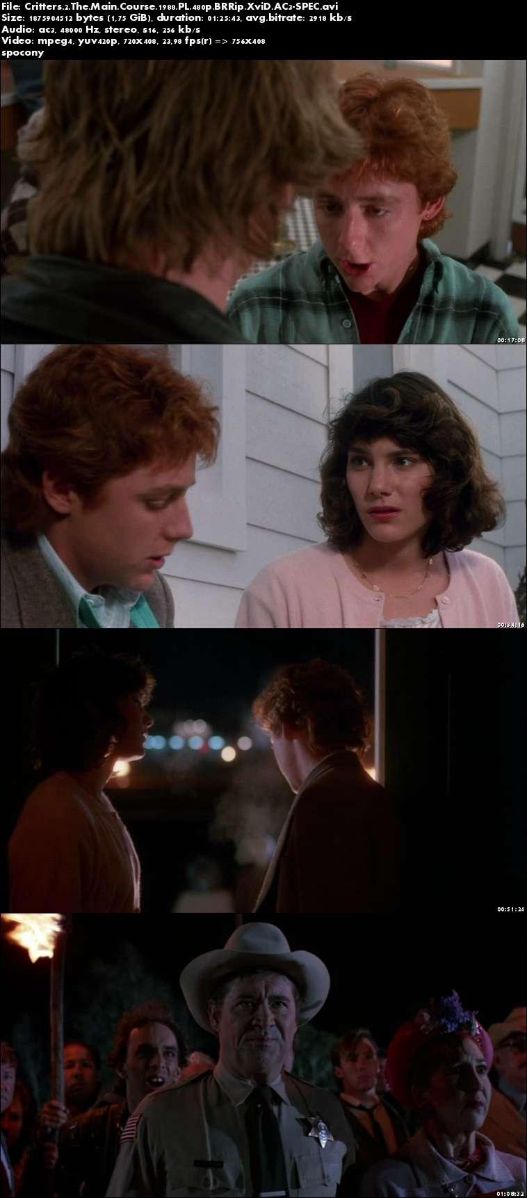 Critters 2 / Critters 2: The Main Course (1988) PL.480p.BRRip.XviD.AC3-SPEC [Lektor PL]