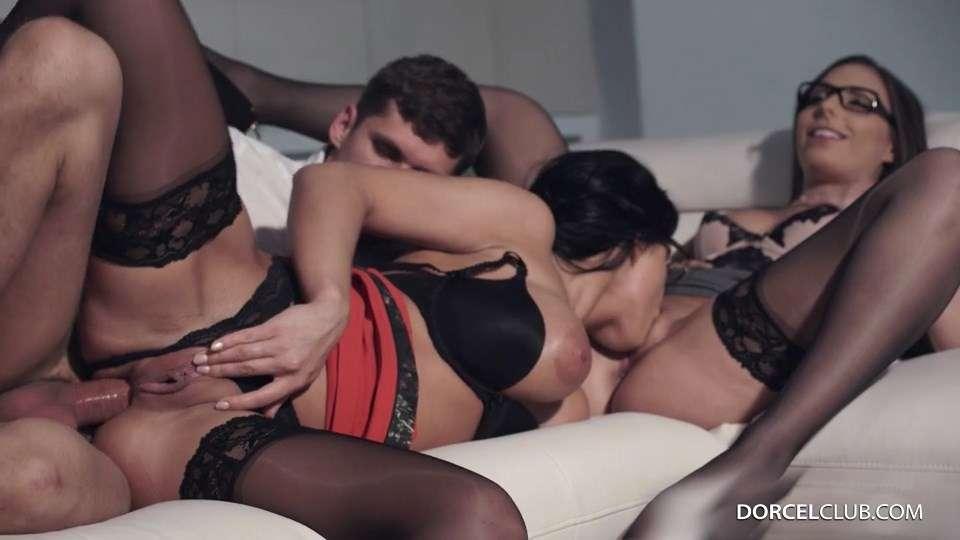 Carla Crouz, Rebeka   2 naughty secretaries get ass-fucked / 2016-09-07