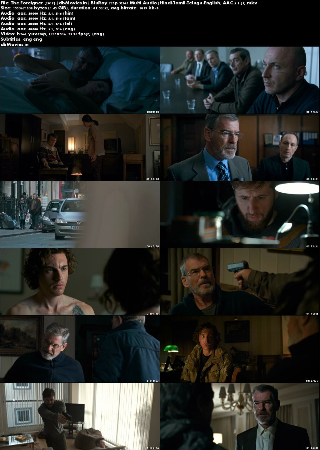 Screen Shot The Foreigner 2017 Full Movie Download Hindi 720p Multi Audio