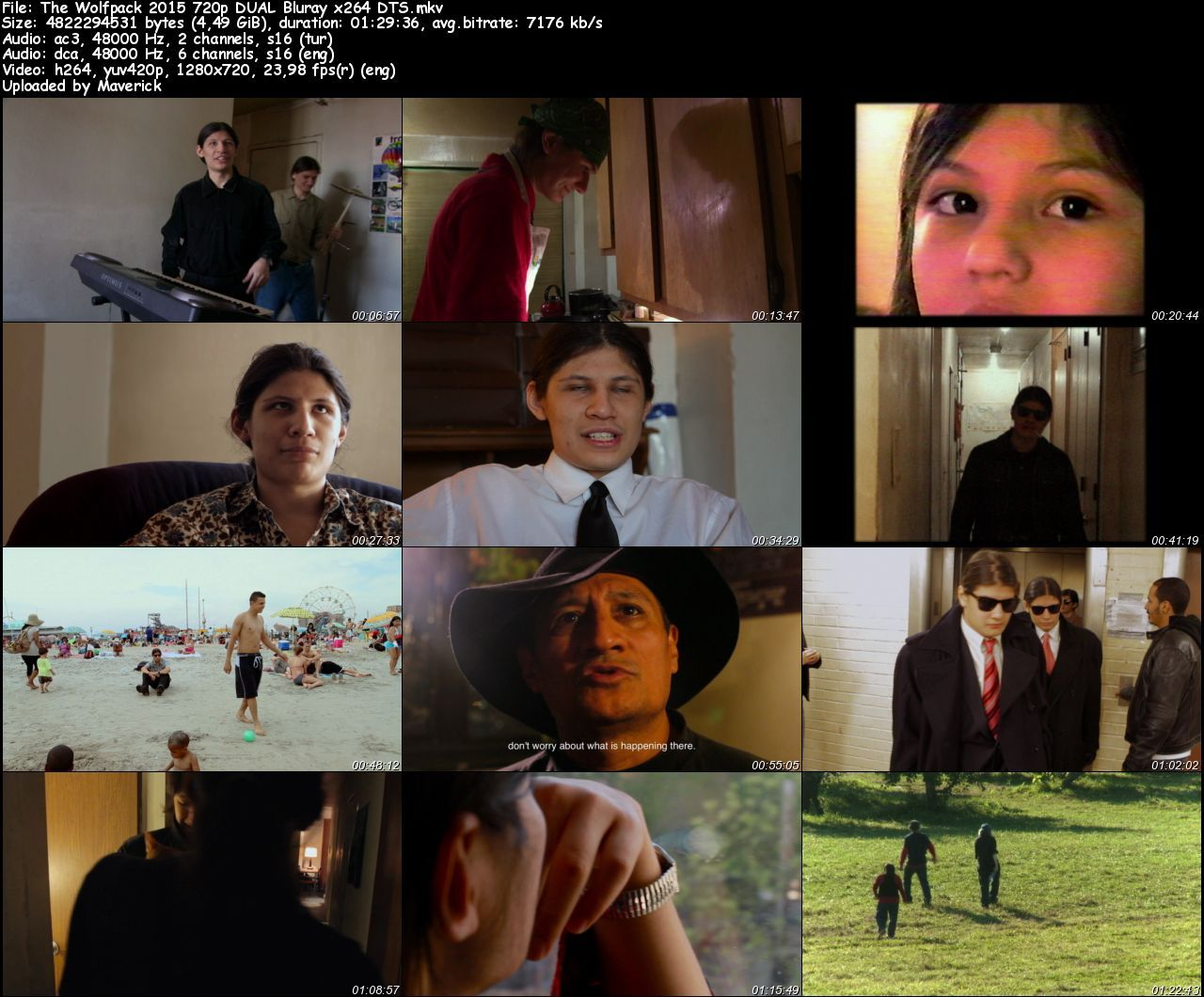 The Wolfpack - 2015 BluRay (720p - 1080p) DuaL MKV indir