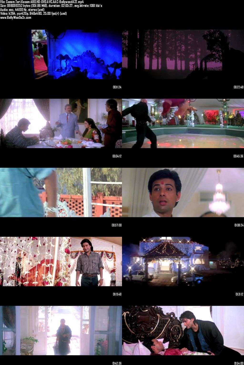 Sanam Teri Kasam (2000) 480p - HD-DVDRip - AVC - AAC-Bollywooda2z