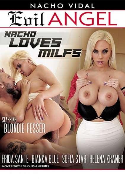 Nacho Loves MILFs / Начо любит мамочек (2018) WEBRip 480p |